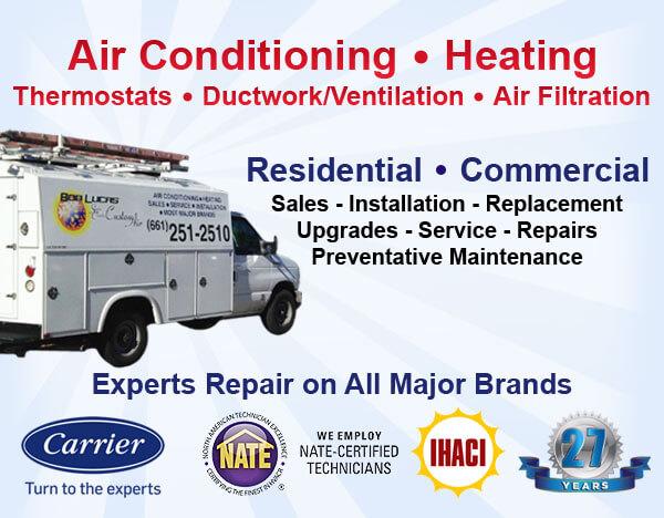 Santa Clarita & Valencia Air Conditioning & Heater/Furnace
